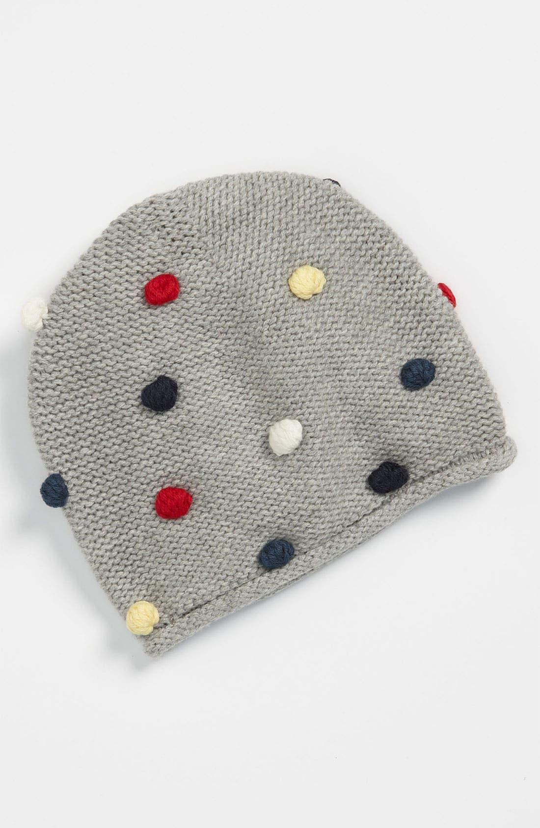 Main Image - United Colors of Benetton Kids Pompom Hat (Infant)