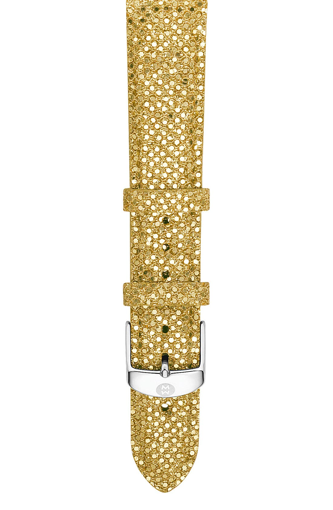 Alternate Image 1 Selected - MICHELE 18mm Sequin Watch Strap