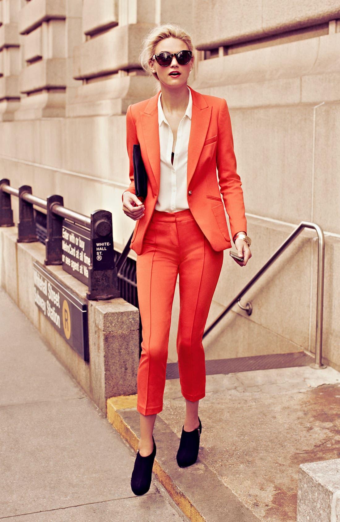 Alternate Image 1 Selected - Trina Turk Jacket, Tank & Pants
