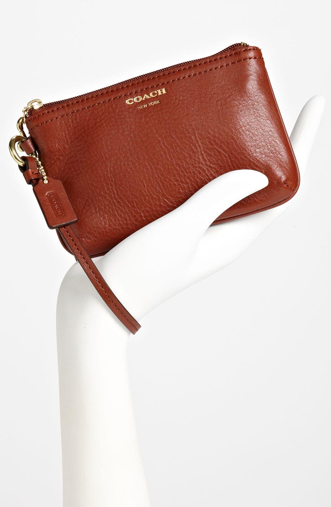 Alternate Image 2  - COACH 'Small' Leather Wristlet