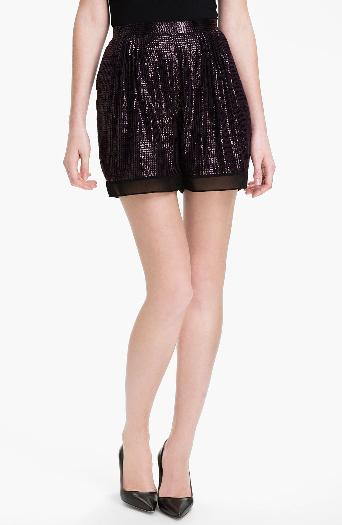 Alternate Image 1 Selected - Diane von Furstenberg 'Sandra Cuvet' Sequin Shorts