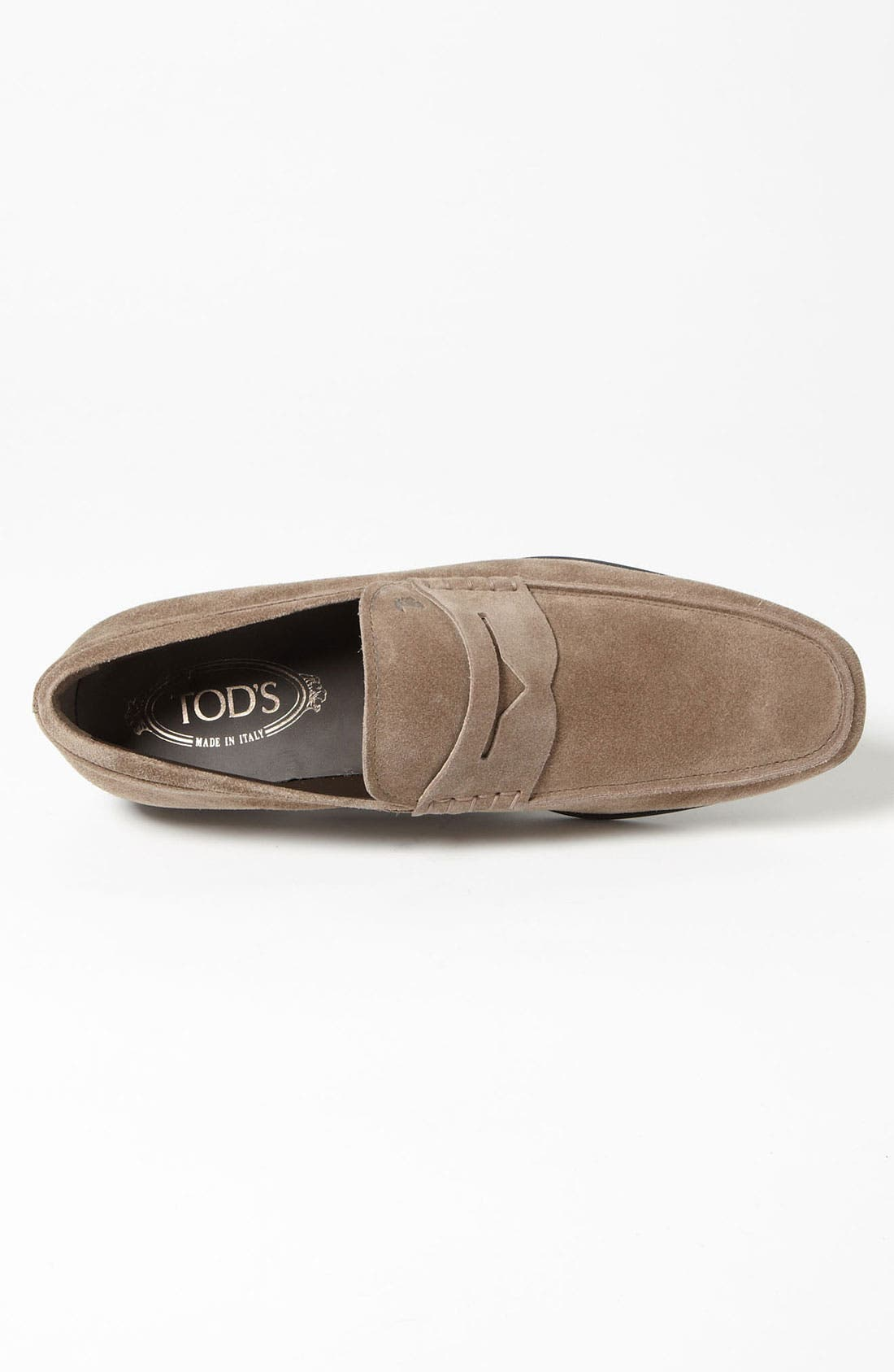 Alternate Image 3  - Tod's 'Gomma' Suede Penny Loafer