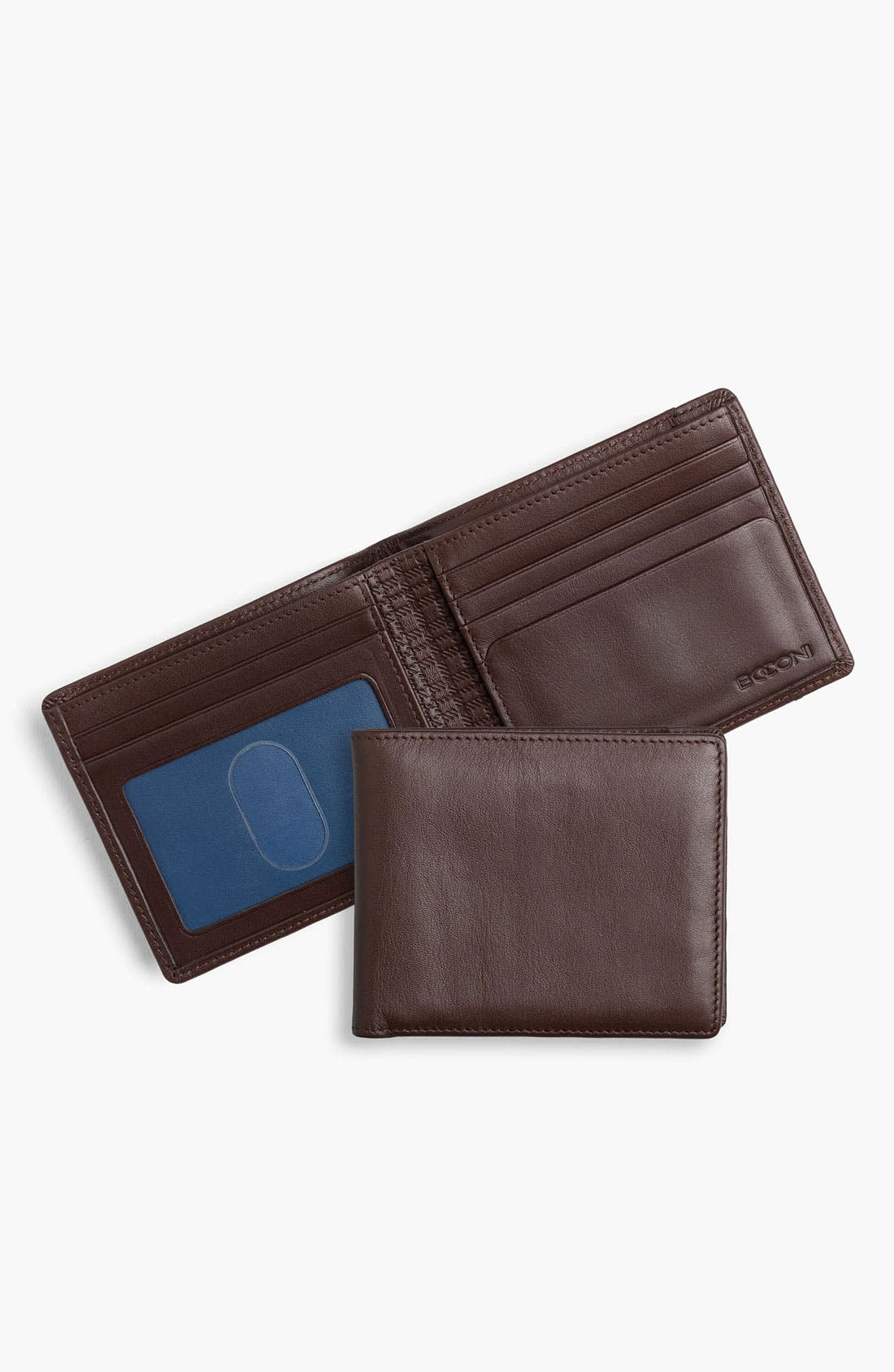 Alternate Image 1 Selected - Boconi Calfskin Wallet