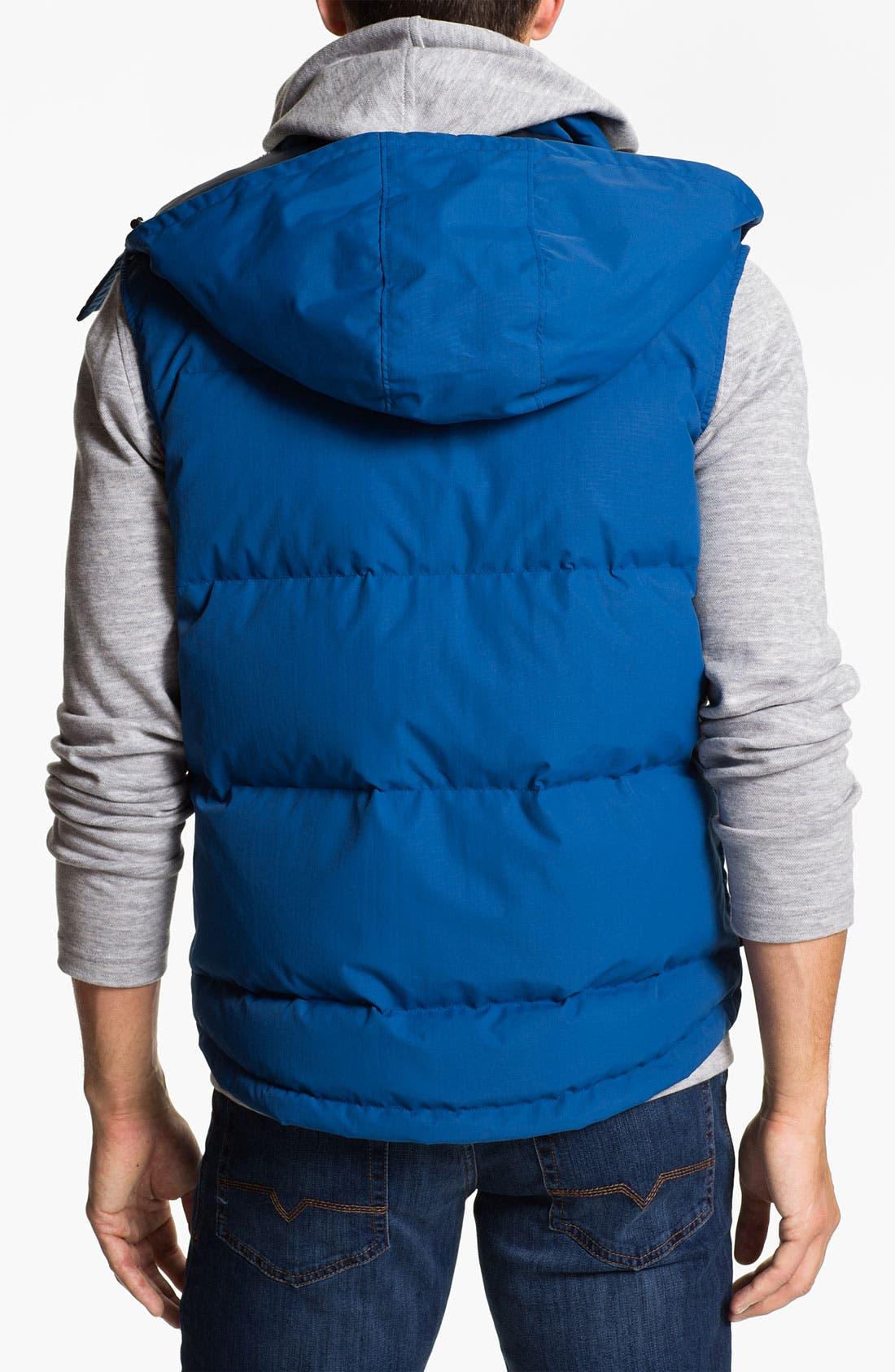Alternate Image 2  - Lacoste Zip Hooded Vest