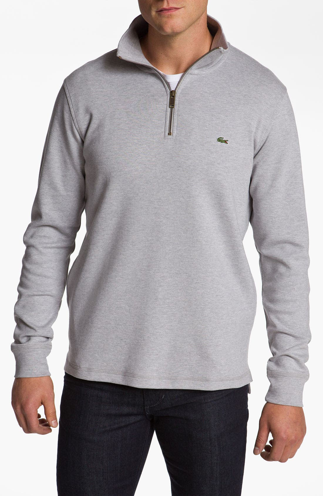 Alternate Image 1 Selected - Lacoste Half Zip Pullover