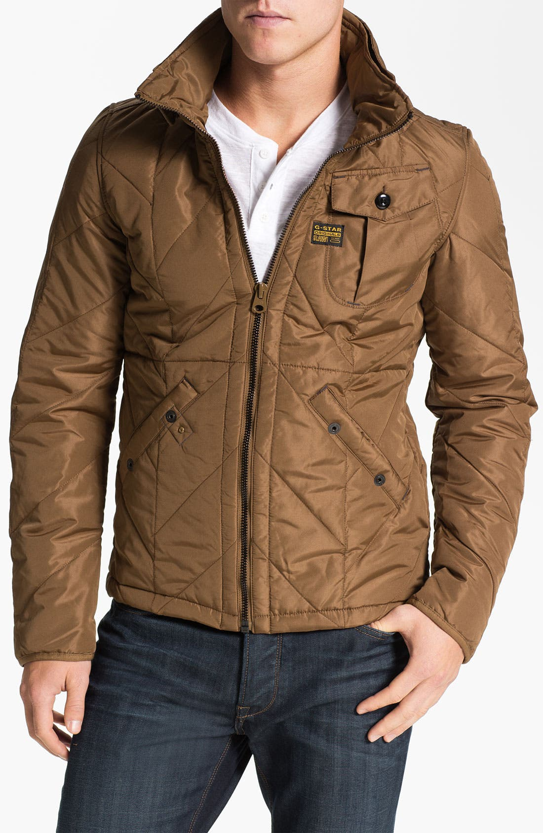 Alternate Image 1 Selected - G-Star Raw Quilted Nylon Jacket