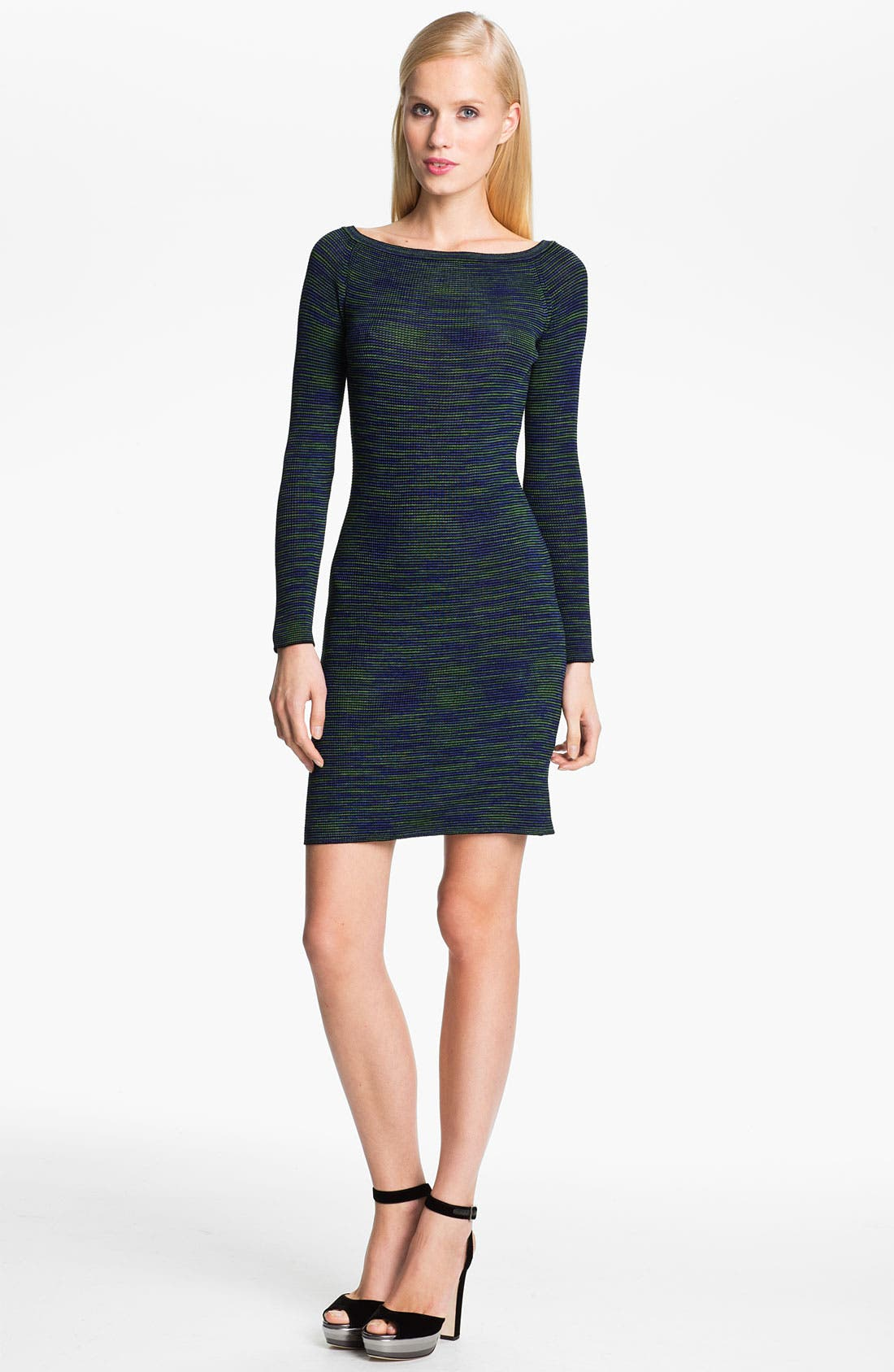 Main Image - M Missoni Space Dye Ribbed Dress