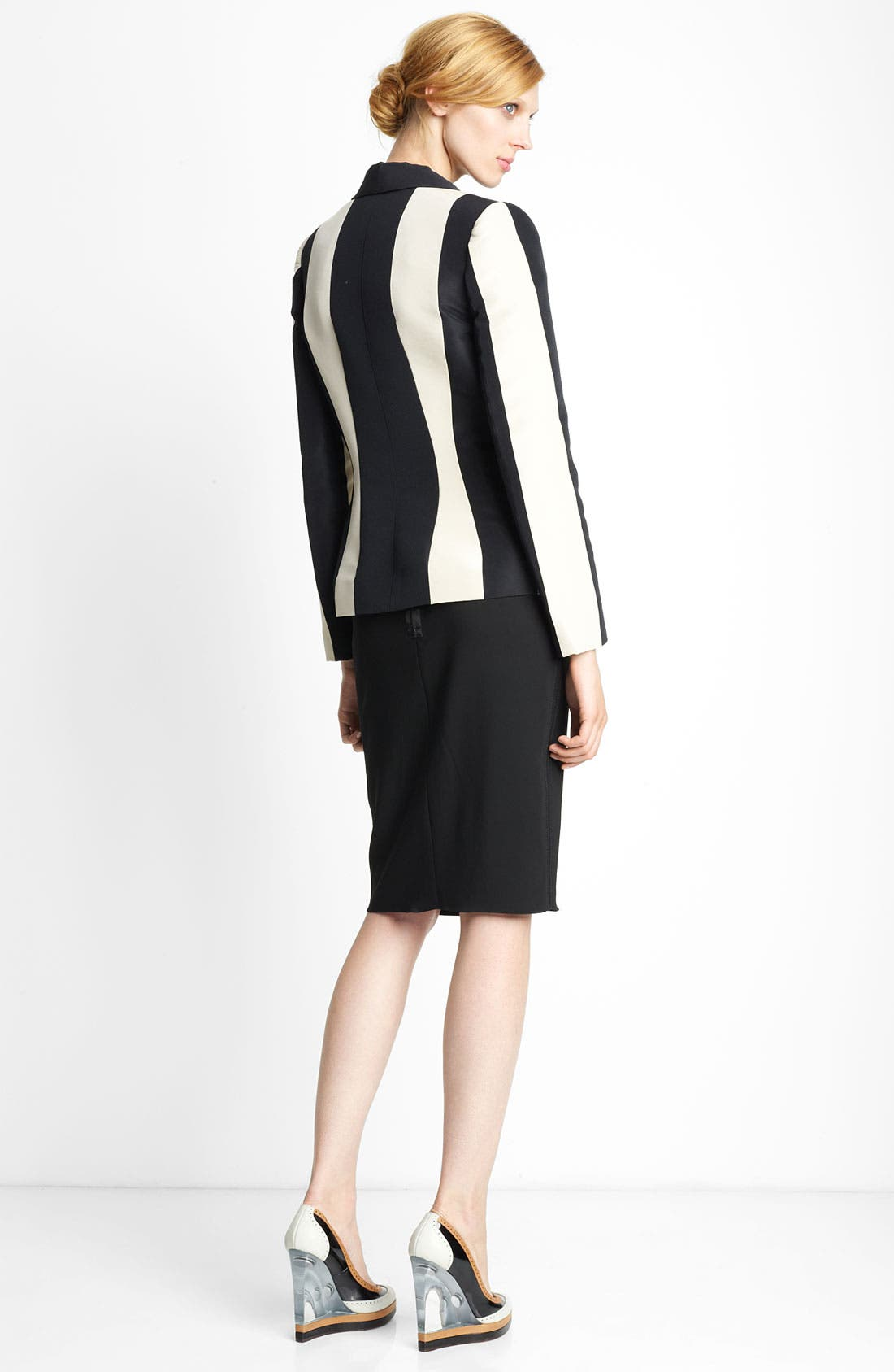 Alternate Image 2  - Lanvin Stripe Blazer