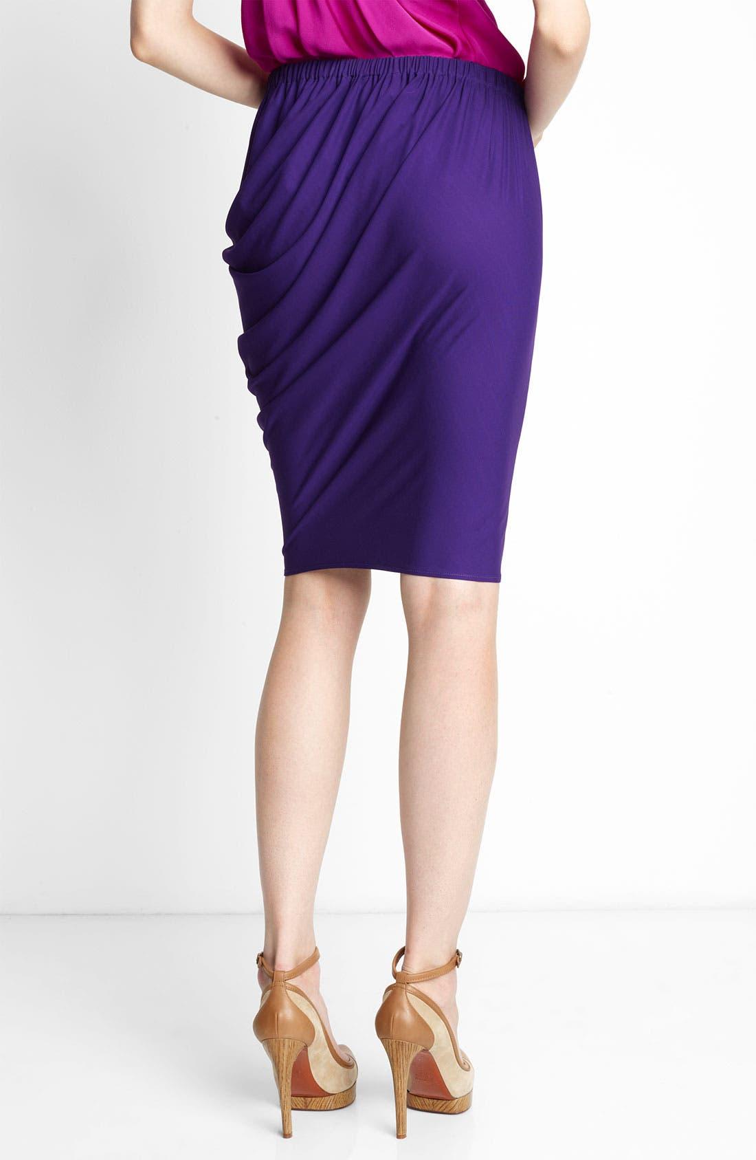 Alternate Image 2  - Lanvin Draped Jersey Skirt