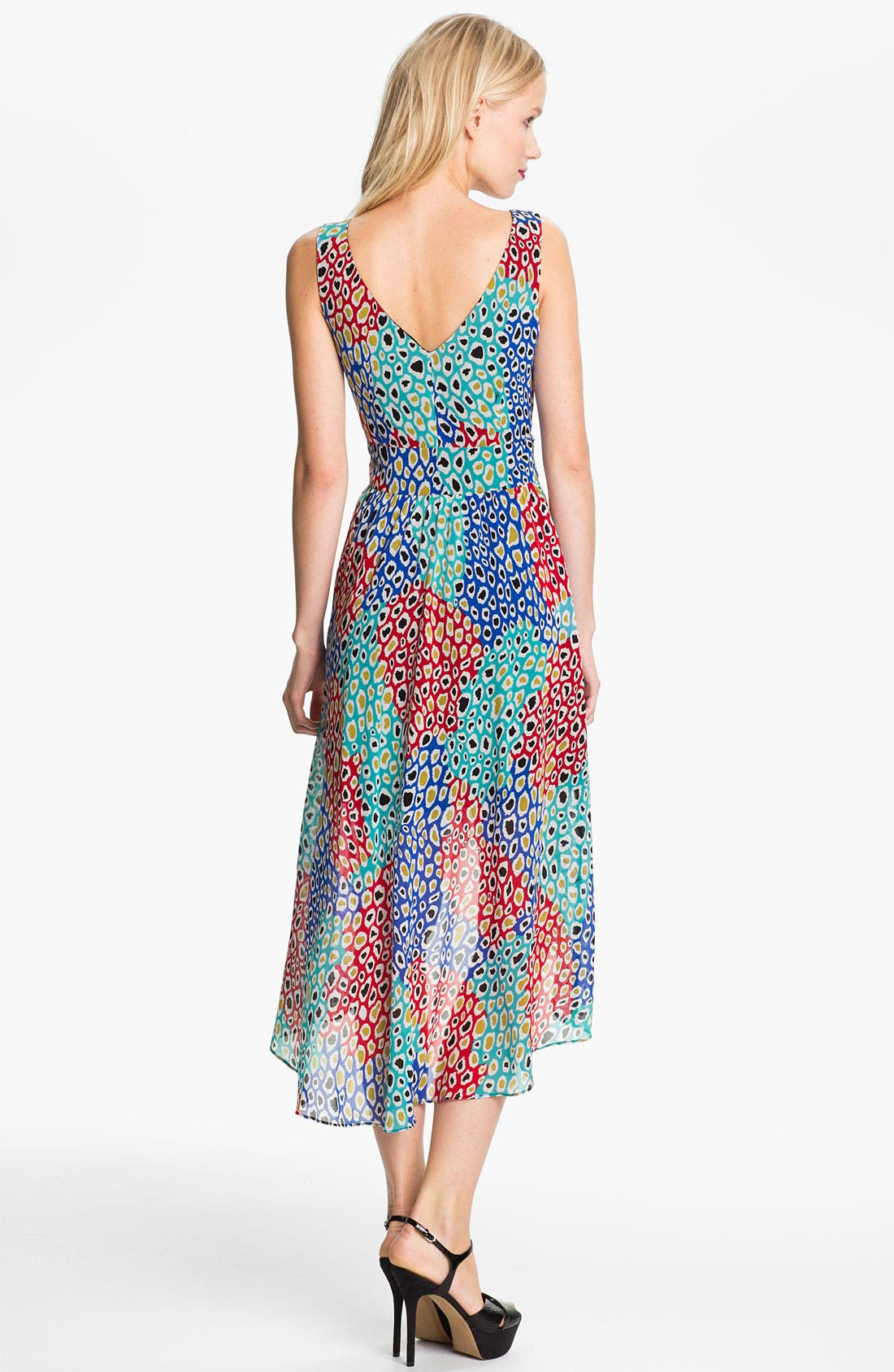Alternate Image 2  - Trina Turk 'Vodka' Silk Faux Wrap Dress