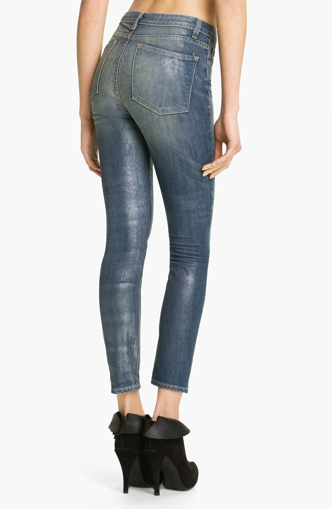 Alternate Image 2  - MARC BY MARC JACOBS 'Sofie' Cigarette Jeans (Vintage Pearl)