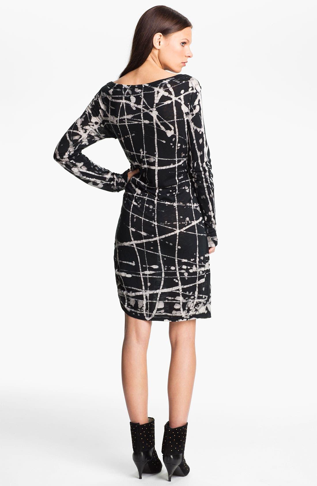 Alternate Image 2  - Kelly Wearstler 'Batik Cage' Jersey Dress