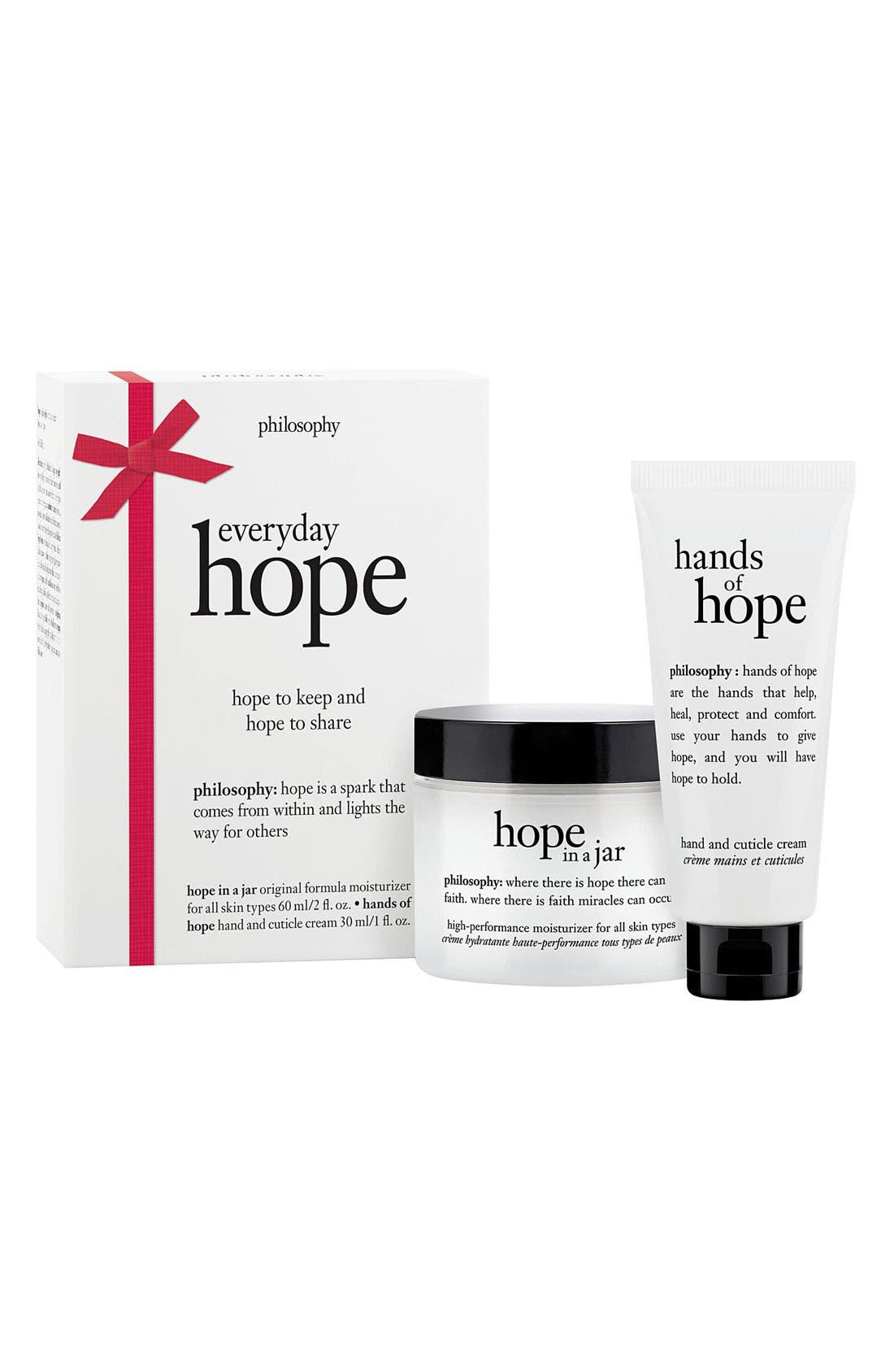 Main Image - philosophy 'holiday hope' bonus set ($49 value)