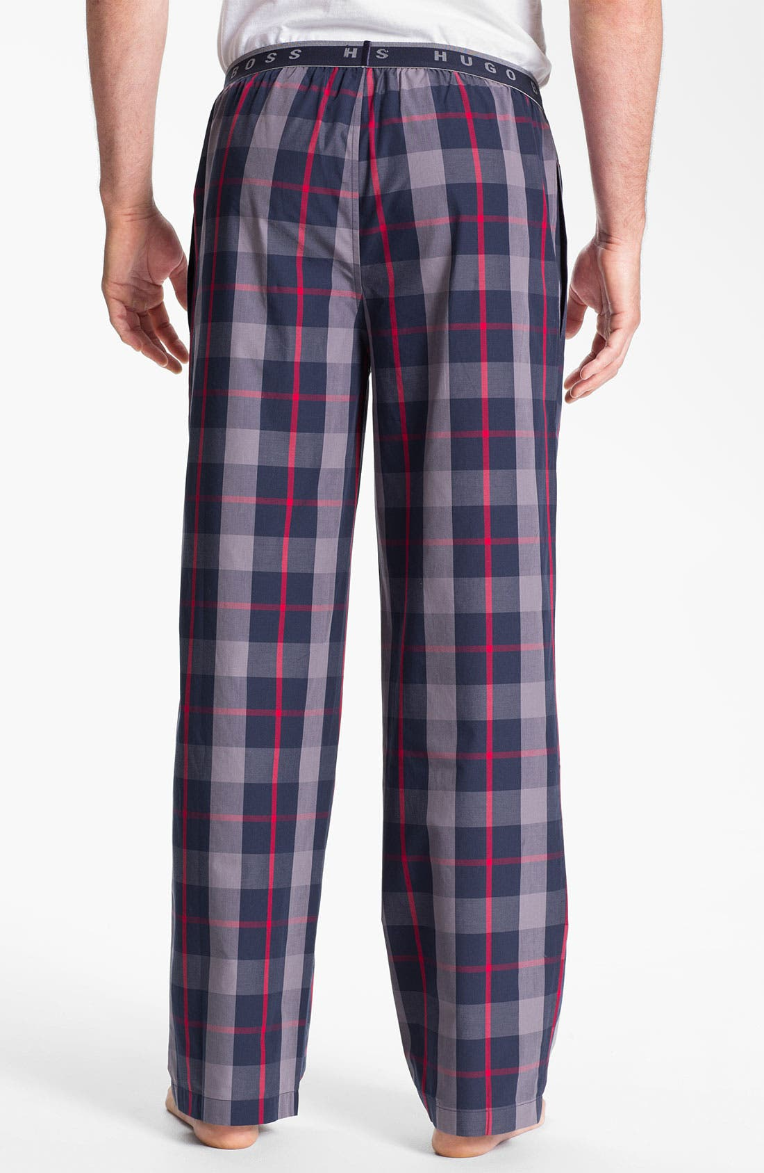 Alternate Image 2  - BOSS Black 'Innovation 1' Plaid Lounge Pants