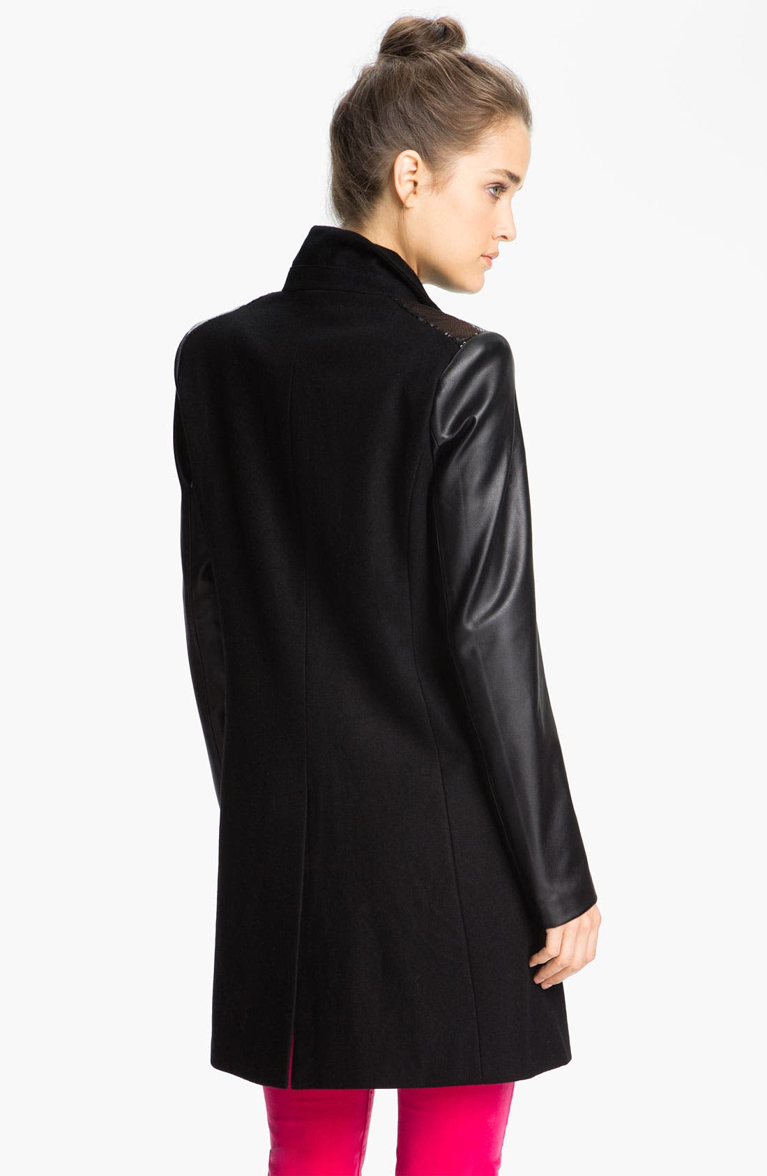 Alternate Image 2  - Sam Edelman Sequin Embellished Coat