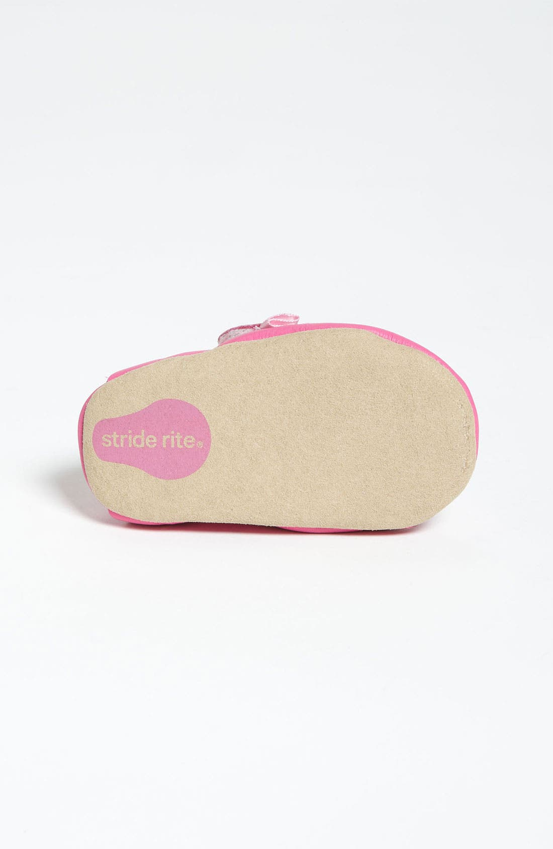 Alternate Image 4  - Stride Rite 'Rosy Ruffles' Crib Shoe (Baby)