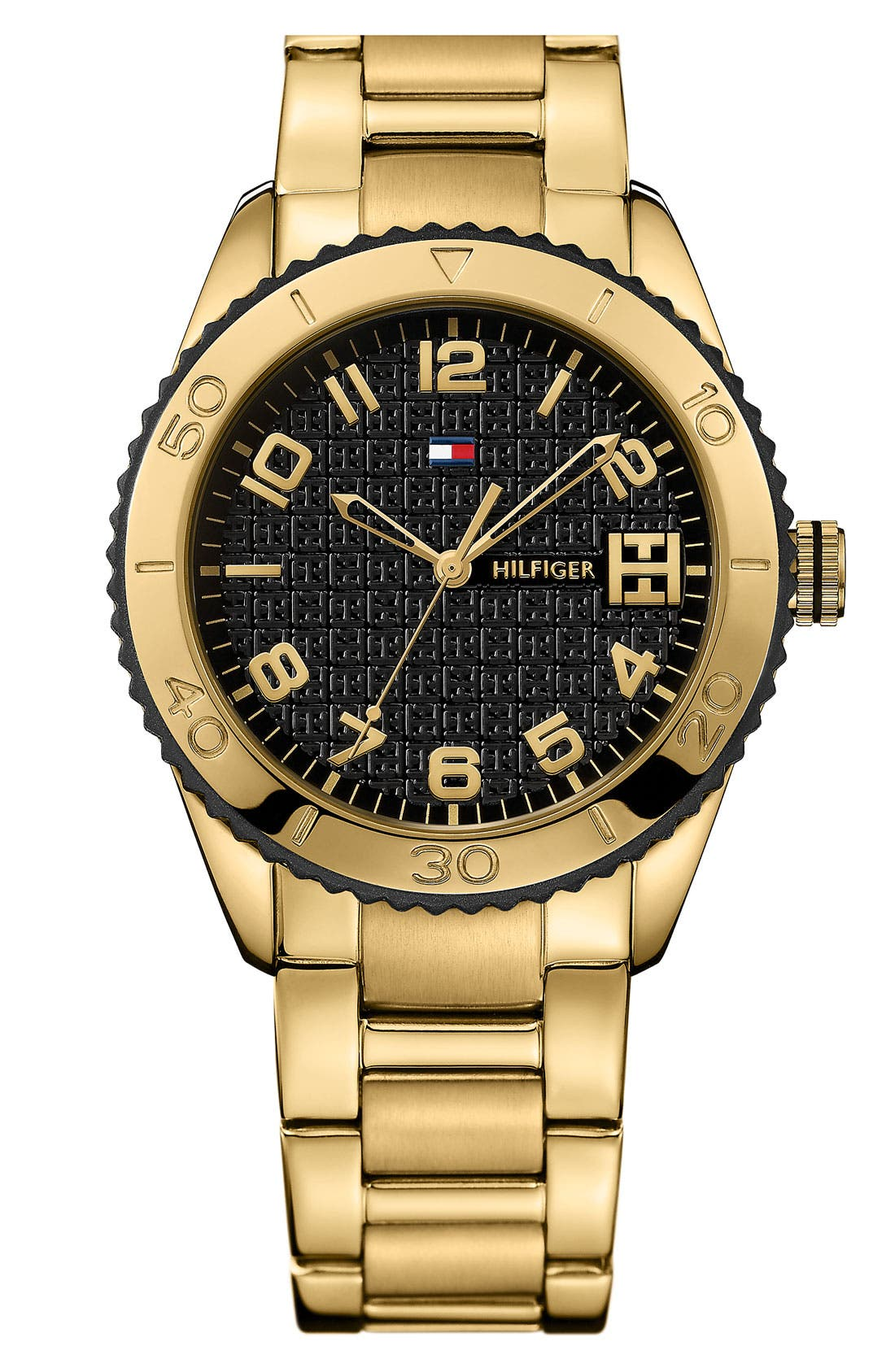 Alternate Image 1 Selected - Tommy Hilfiger Round Bracelet Watch