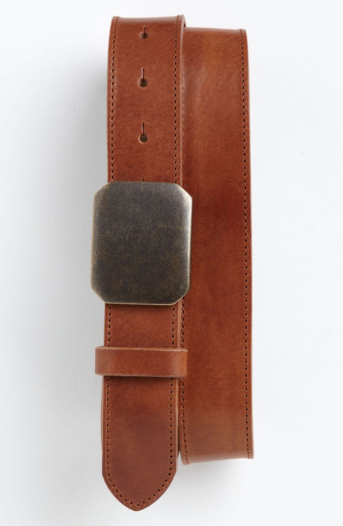 Alternate Image 1 Selected - Trafalgar 'Salem' Leather Belt