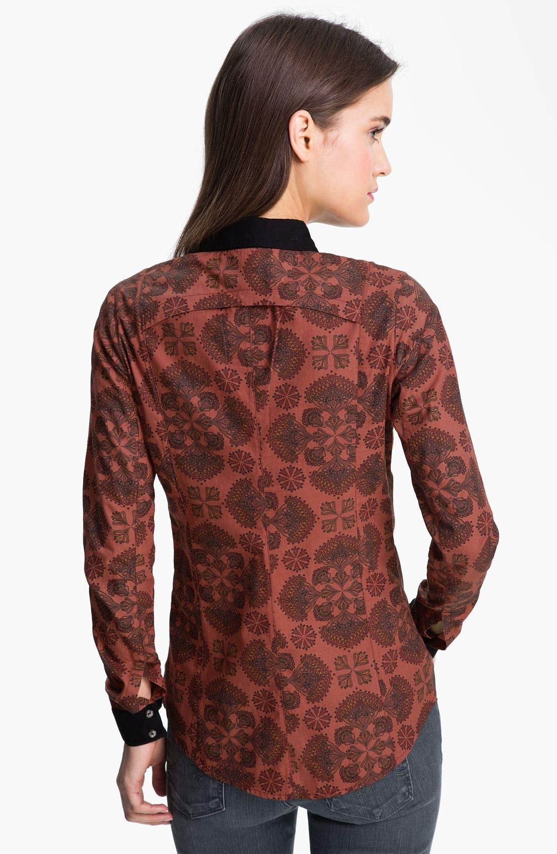 Alternate Image 2  - ELEVENPARIS 'Carmin' Print Shirt