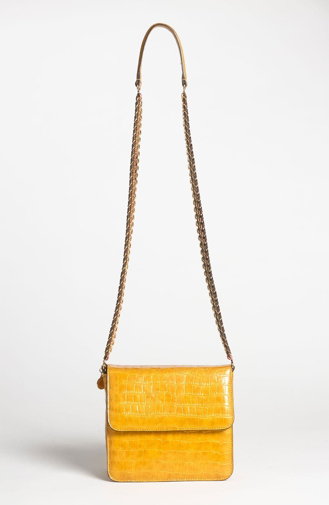 Main Image - Stella McCartney Faux Croc Crossbody Bag
