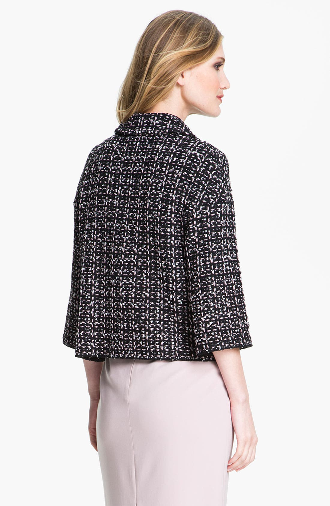 Alternate Image 3  - St. John Collection Ribbon Sequin Knit Crop Jacket