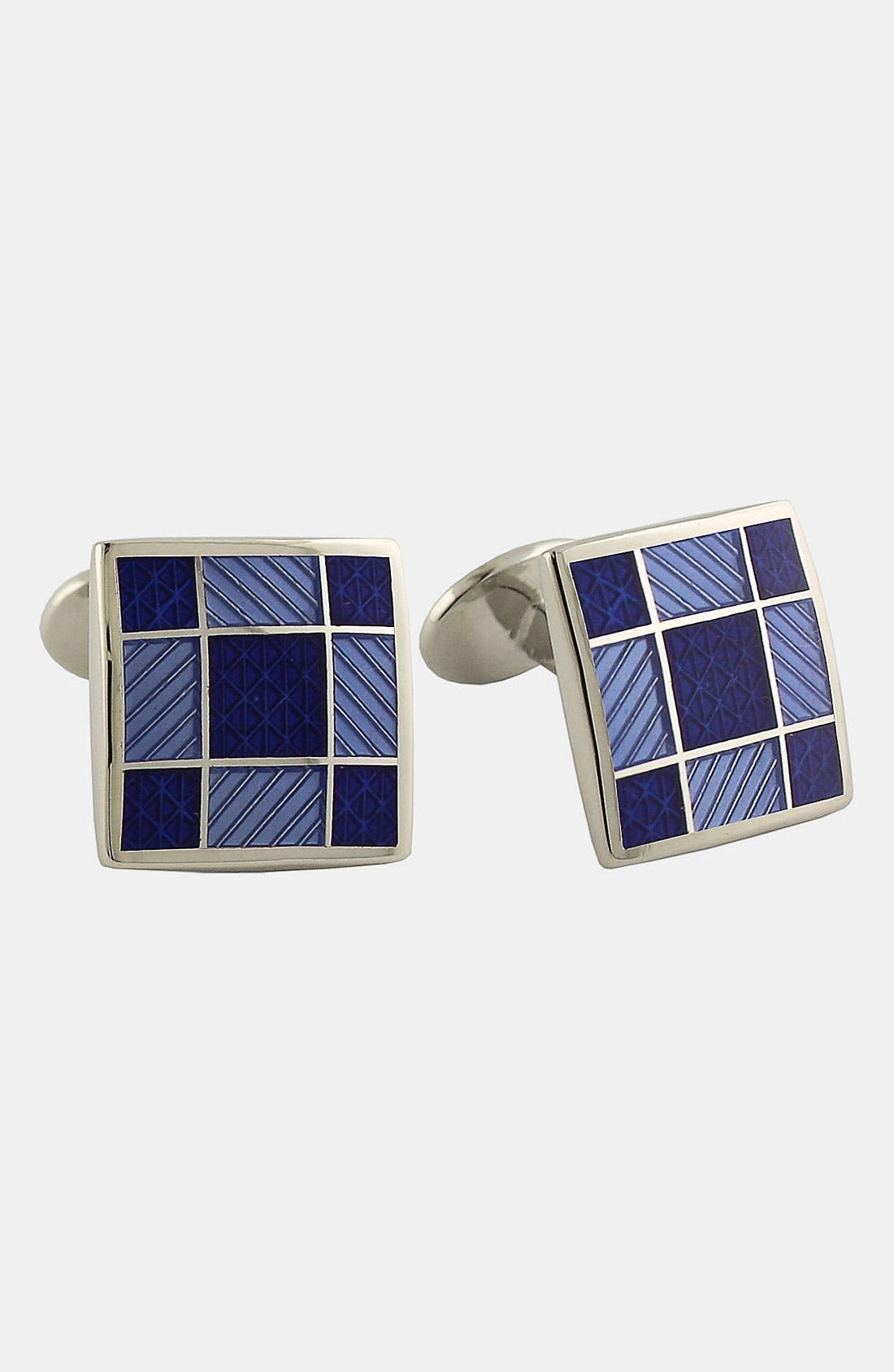 Alternate Image 1 Selected - David Donahue Square Cuff Links