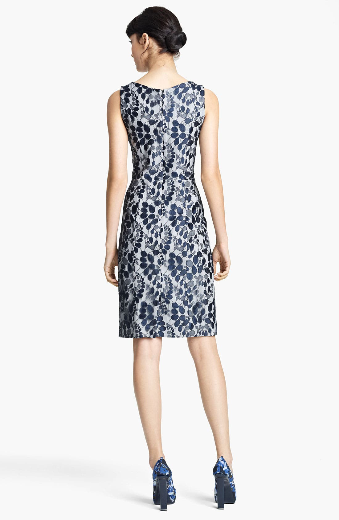 Alternate Image 2  - Erdem Sleeveless Lace Sheath Dress