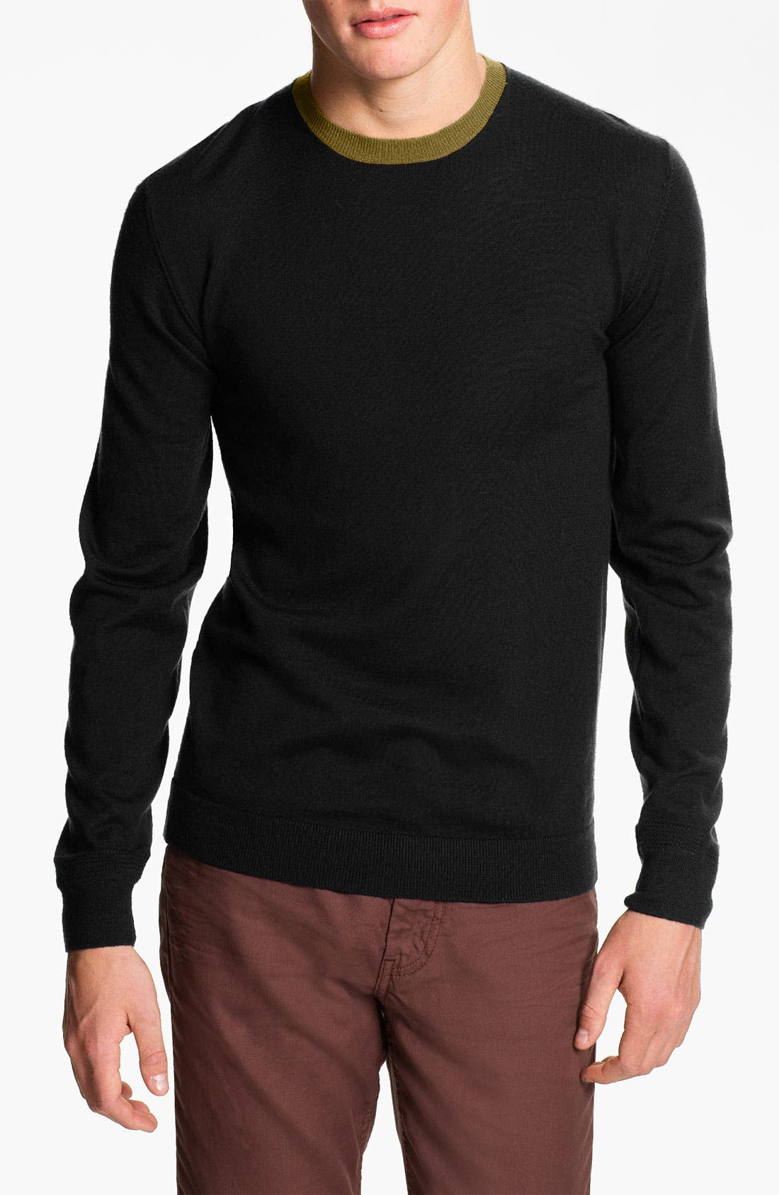 Alternate Image 1 Selected - MARC BY MARC JACOBS 'Ulrich' Merino Wool Crewneck Sweater