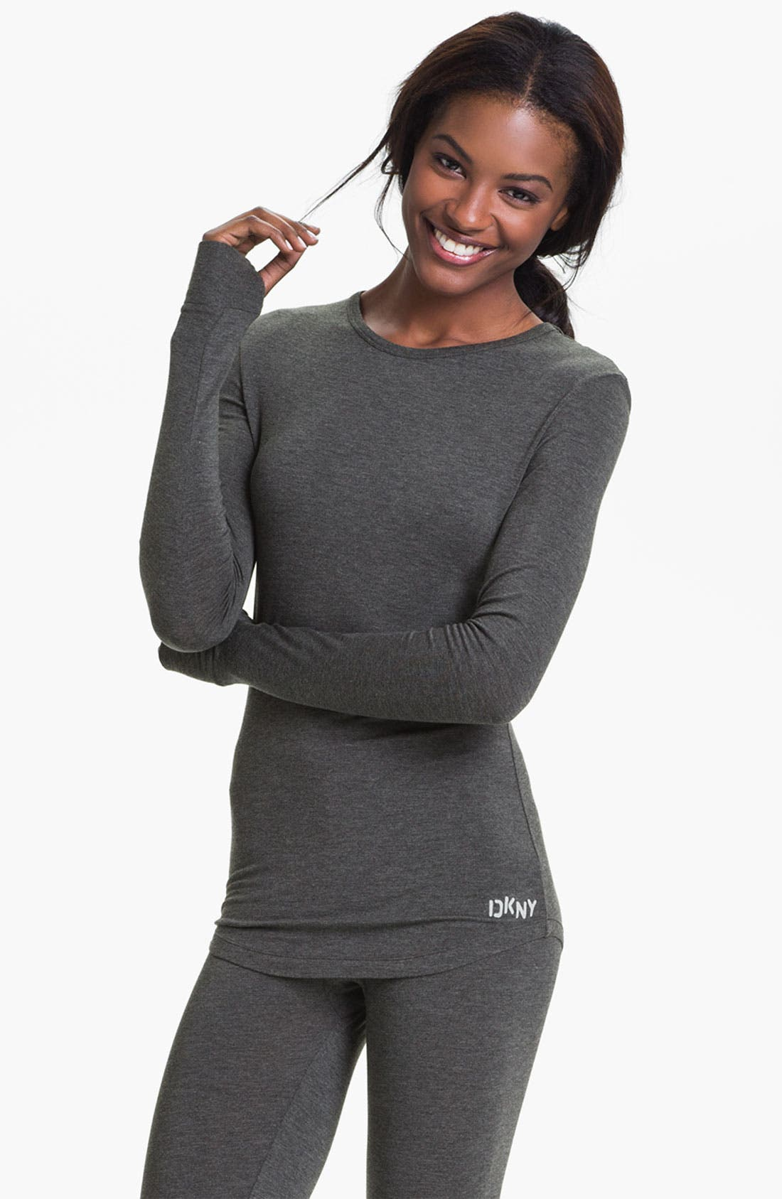 Alternate Image 1 Selected - DKNY Base Layer Crewneck Tee