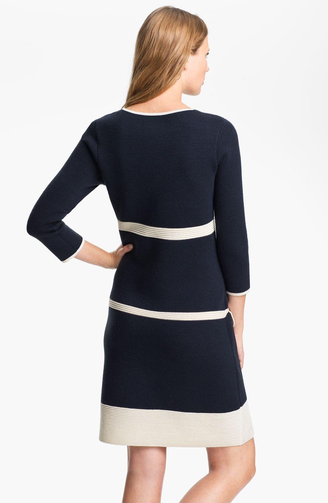 Alternate Image 2  - kate spade new york 'cathie' merino wool sweater dress