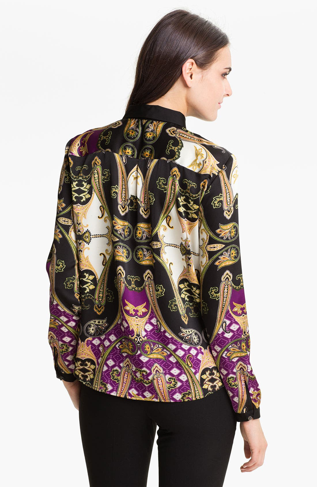 Alternate Image 2  - Vince Camuto Ornate Paisley Blouse