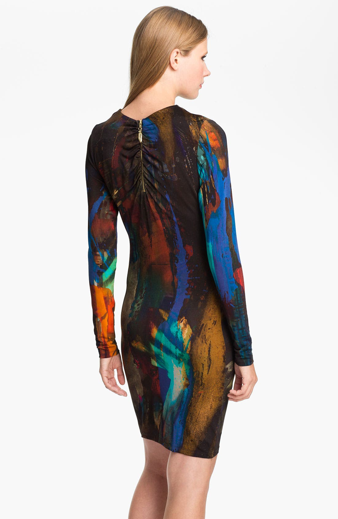 Alternate Image 2  - Ted Baker London 'Pennii' Print Jersey Sheath Dress