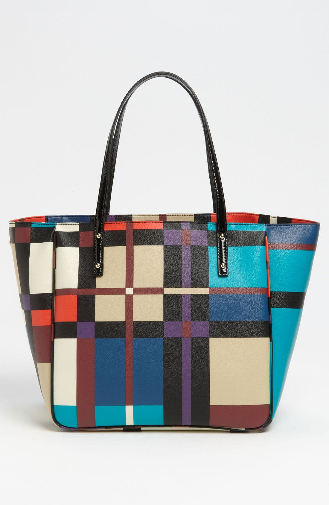 Alternate Image 4  - kate spade new york 'perry street plaid - sidney' tote