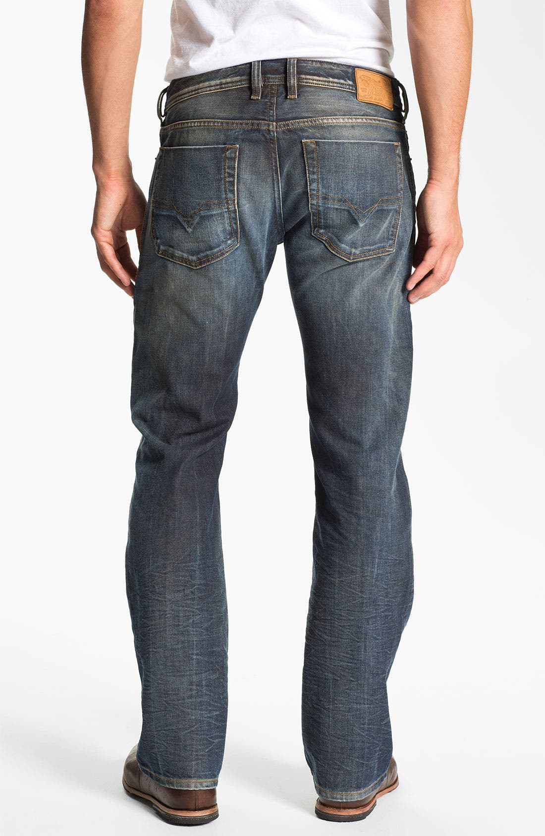 Alternate Image 1 Selected - DIESEL® 'Zatiny' Bootcut Jeans (803M)