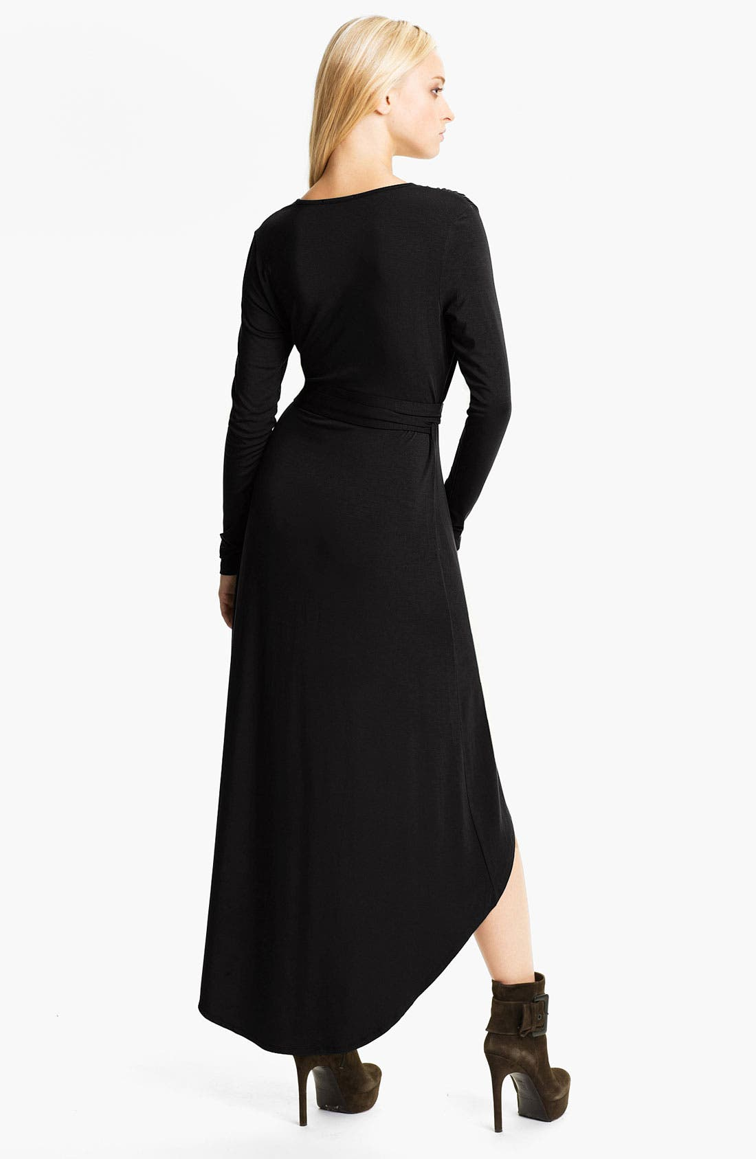 Alternate Image 2  - Tart 'Autumn' High/Low Jersey Wrap Dress