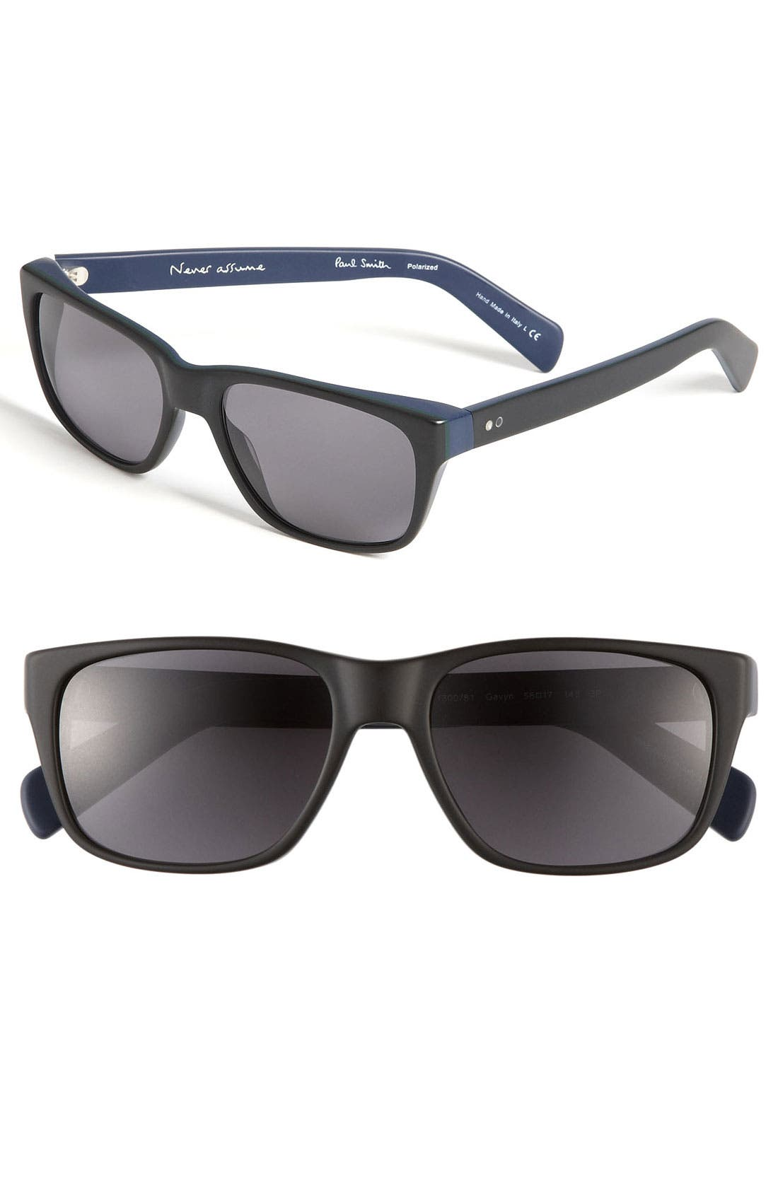 Alternate Image 1 Selected - Paul Smith 'Gavyn' Polarized Sunglasses