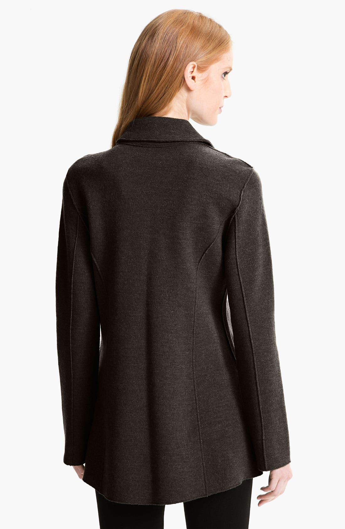 Alternate Image 2  - Eileen Fisher Notch Collar Long Jacket