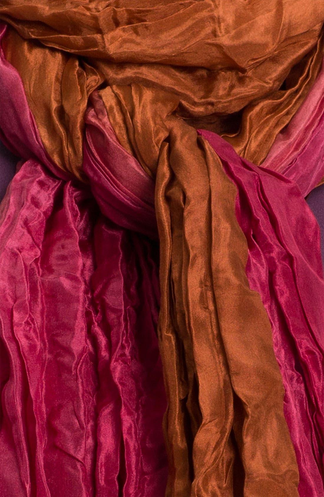 Alternate Image 2  - Eileen Fisher Ombré Silk Scarf