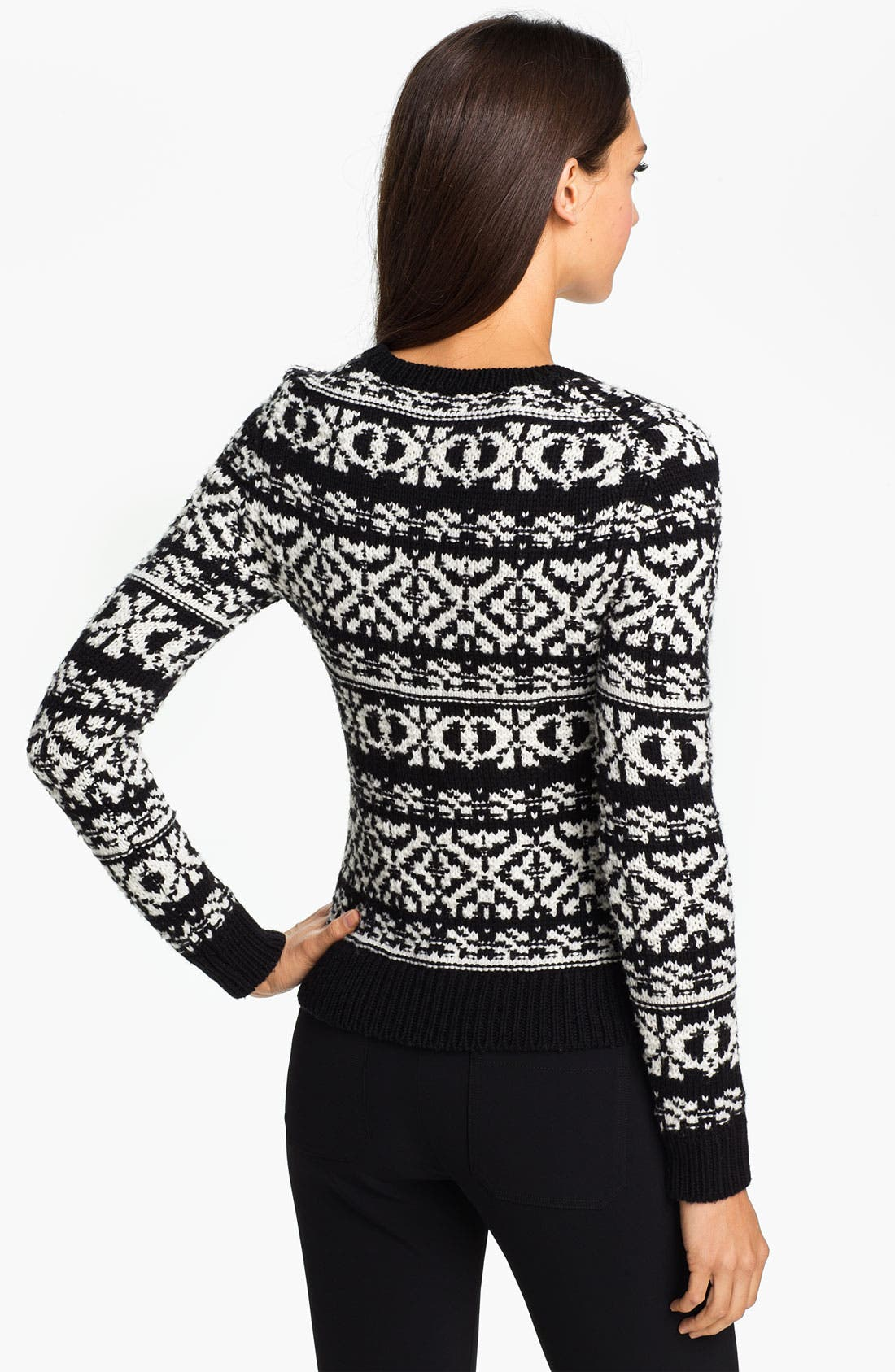 Alternate Image 2  - Theory 'Tommie P.' Wool Sweater
