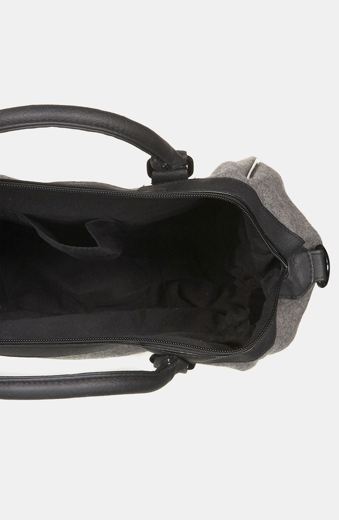 Alternate Image 3  - Topshop Felt Duffel Bag