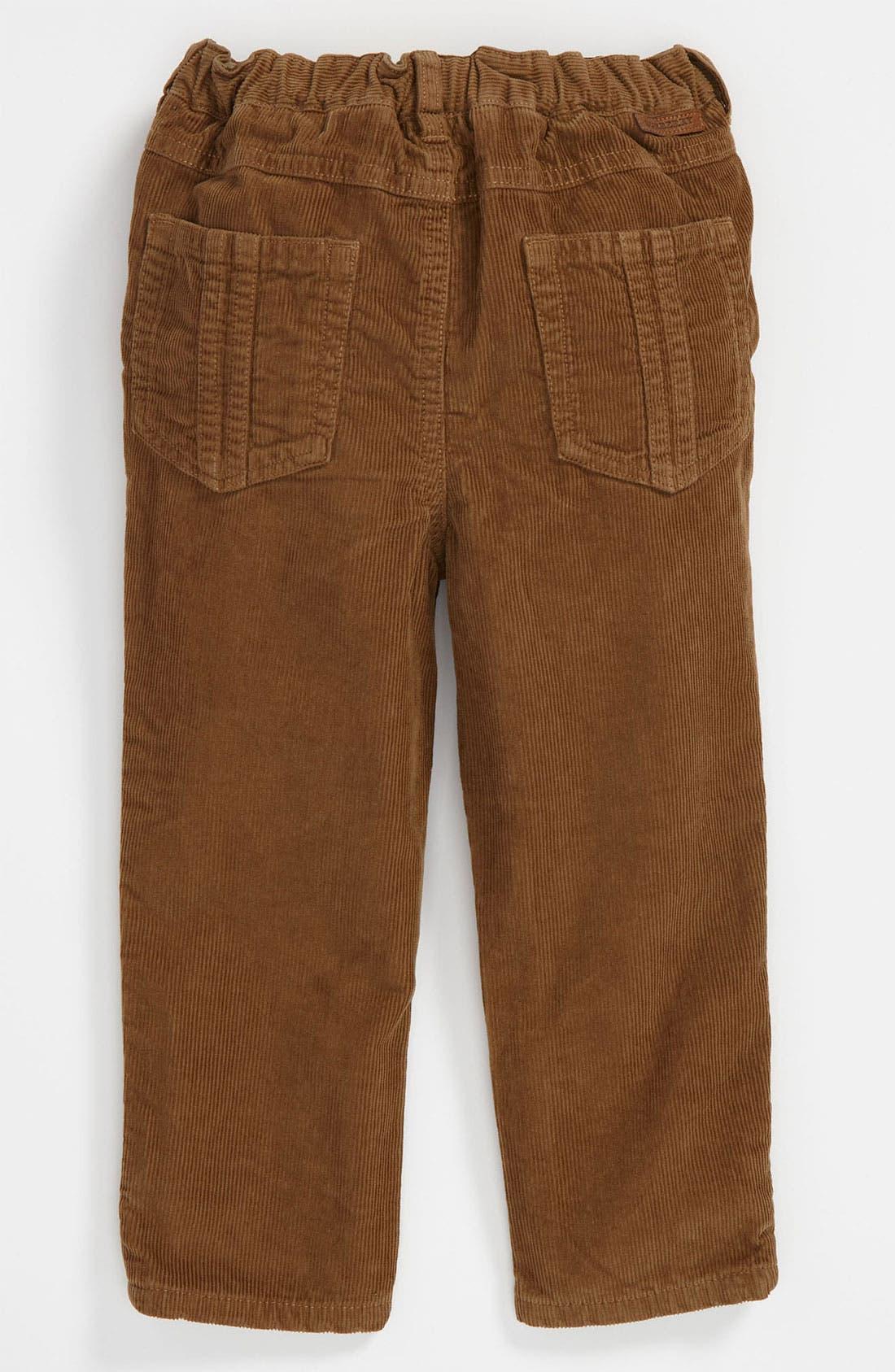 Main Image - Burberry Corduroy Pants (Toddler)