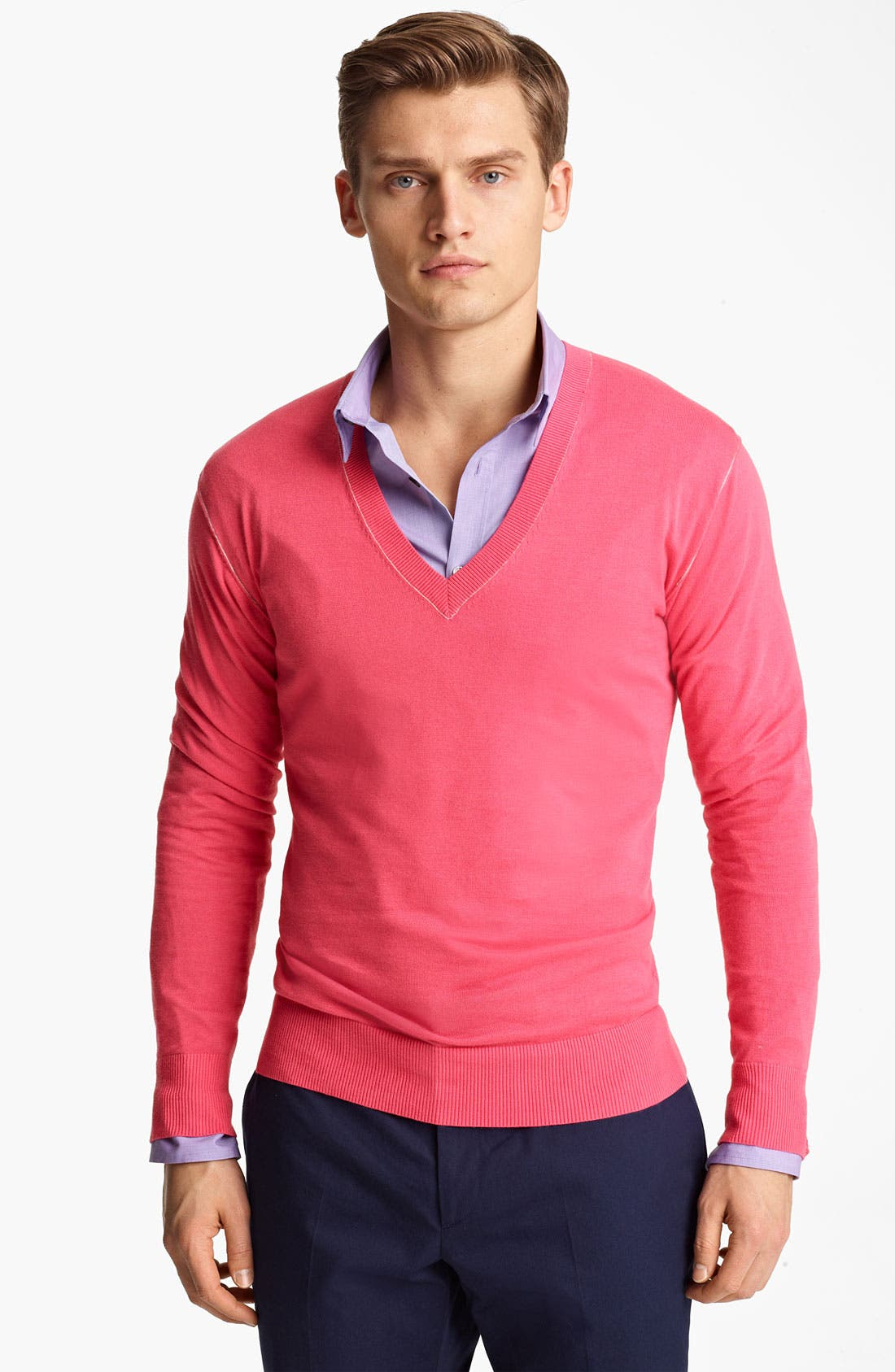 Alternate Image 1 Selected - PS Paul Smith V-Neck Sweater