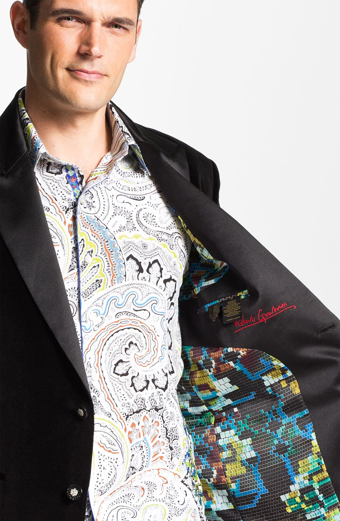 Alternate Image 4  - Robert Graham 'Minstrel' Sportcoat