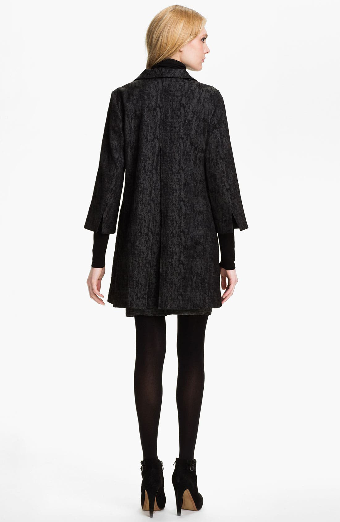 Alternate Image 5  - Eileen Fisher Jacquard Coat (Online Exclusive)