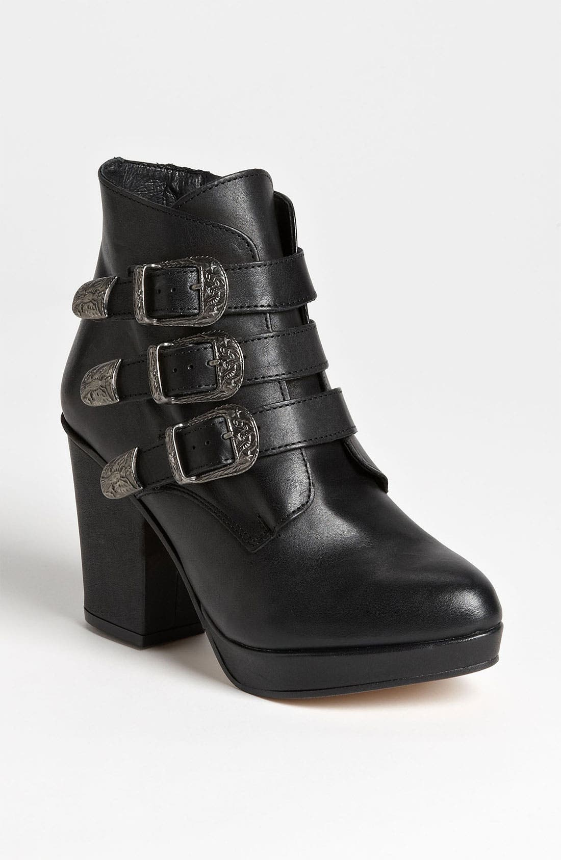 Main Image - Topshop 'Ant' Buckle Boot