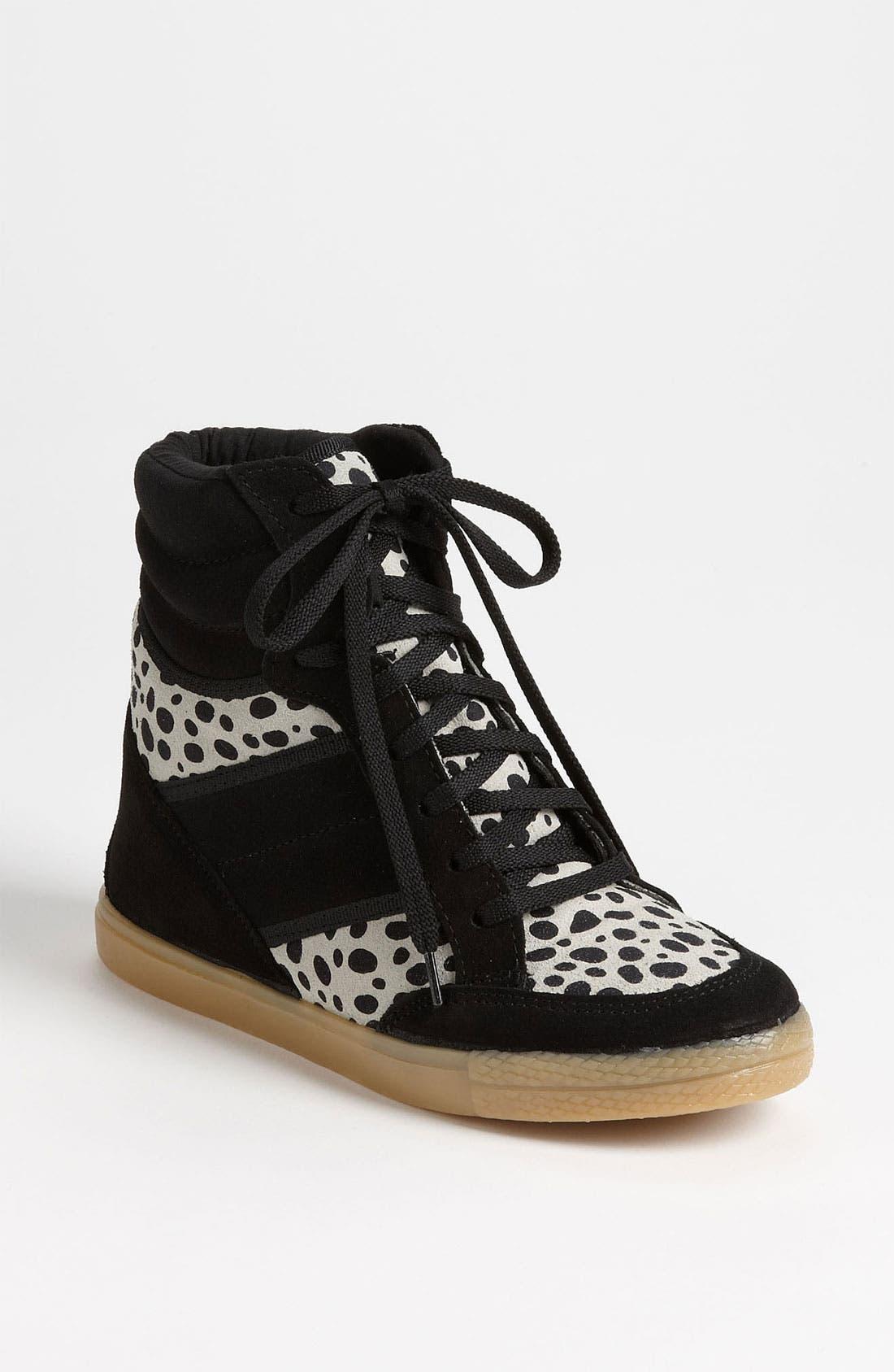 Alternate Image 1 Selected - Topshop 'Acrobatics - Dalmation' Sneaker