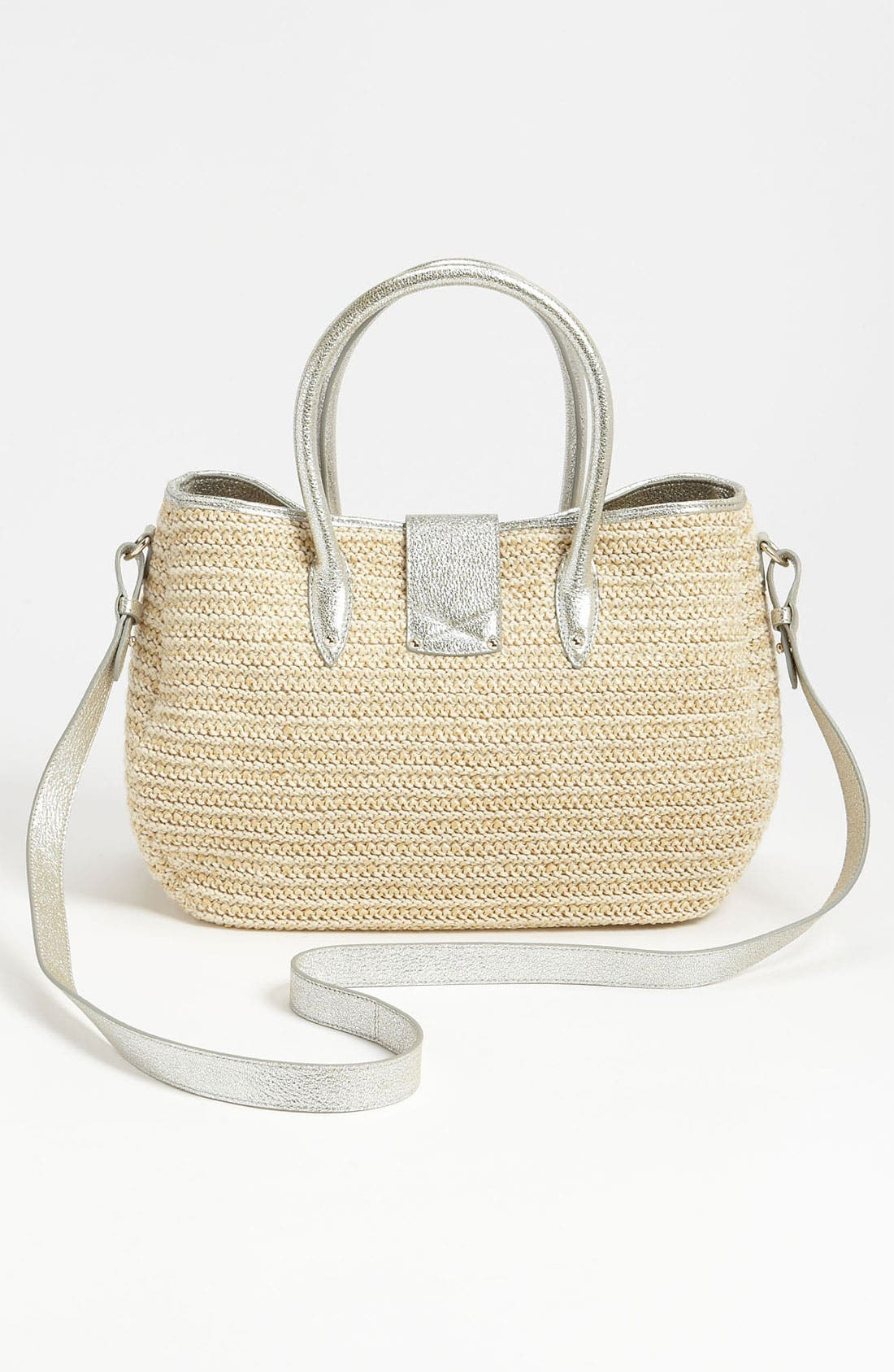 Alternate Image 4  - Jimmy Choo 'Rania' Raffia Tote