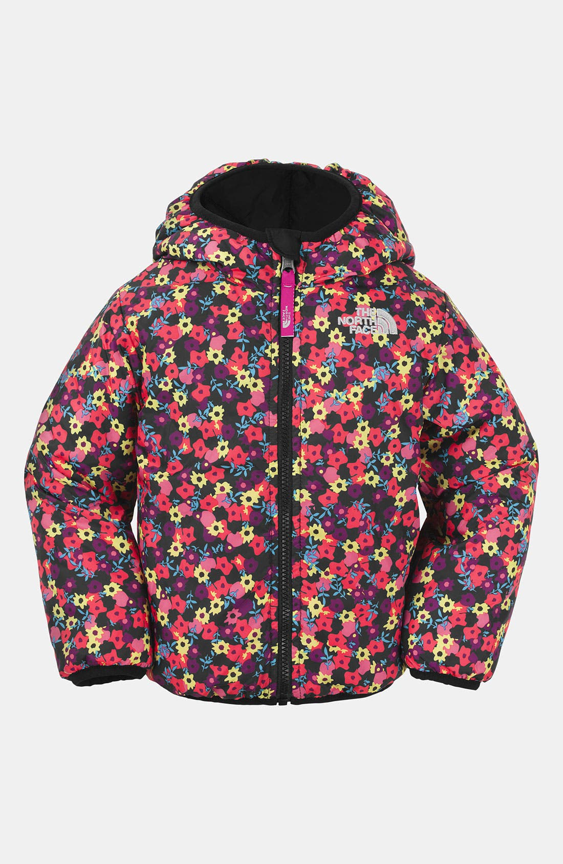 Main Image - The North Face 'Perrito' Reversible Puffer Jacket (Toddler Girls)