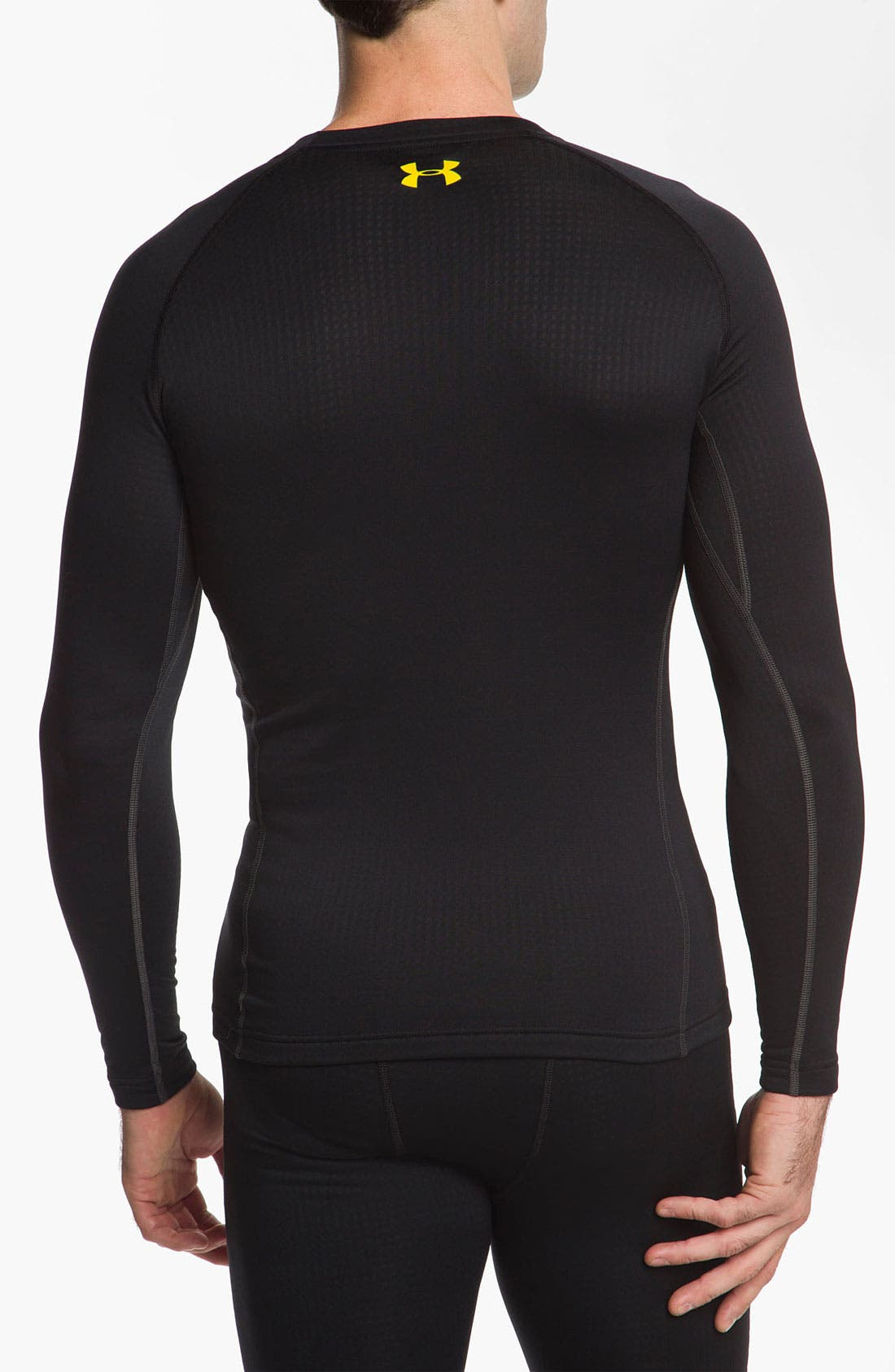 Alternate Image 2  - Under Armour 'Base 2.0' Fitted Crewneck Top (Online Only)