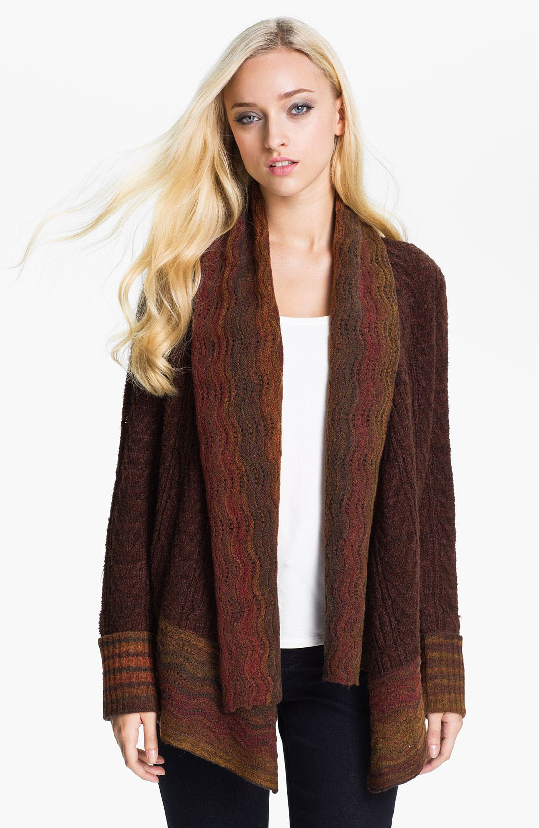 Main Image - Curio Scallop Edge Cardigan